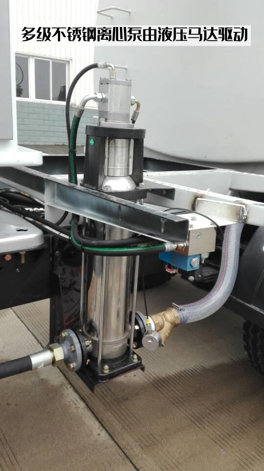 全液压喷雾机匹配的多级不锈钢离心水泵也有液压马达驱动