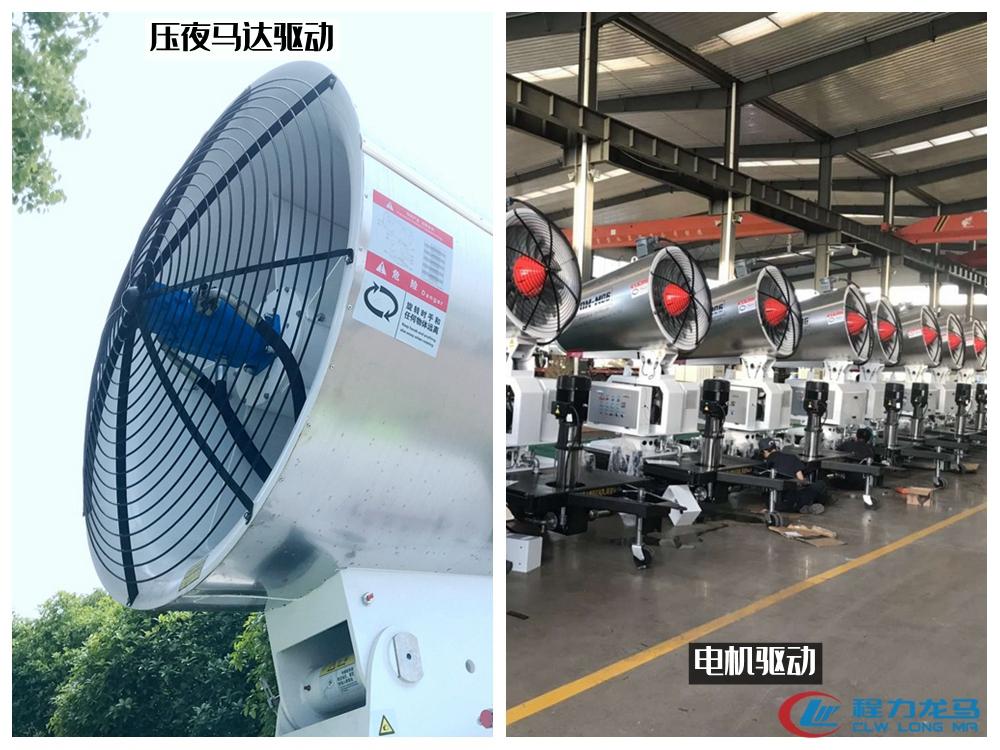 喷雾机风机风扇驱动对比